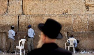 Israel plant den Bau tausender Wohnungen in den besetzten Gebieten. Das Vorgehen wird scharf verurteilt. (Foto)