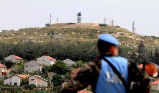 Israel baut Mauer an libanesischer Grenze (Foto)