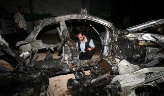 Israel greift weiter Ziele im Gazastreifen an (Foto)