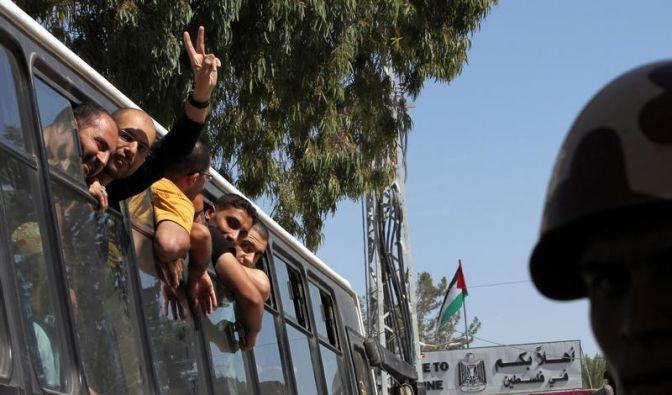 Israel lässt 550 weitere Palästinenser frei (Foto)