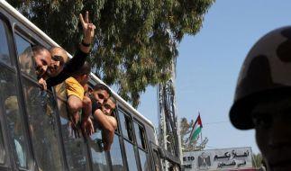 Israel und Hamas schließen Gefangenenaustausch ab (Foto)