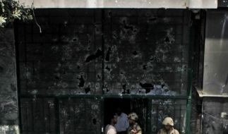 Israels Botschaft in Kairo (Foto)