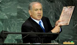 Israels Regierungschef Benjamin Netanjahu (Foto)