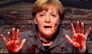 Ist Angela Merkel schuld an den Terroranschlägen in Deutschland? (Foto)