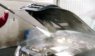 Ist eine Motorwäsche ab und zu sinnvoll? (Foto)