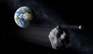 Ist die Erde nur knapp einer Kollision mit einem Asteroiden entgangen? (Foto)