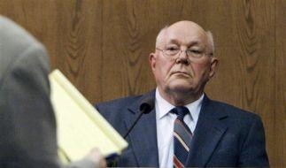 Ist er unschuldig oder trieb er 28.000 Juden in die Gaskammern? John Demjanjuk. (Foto)