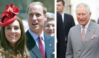 Ist Prinz Charles zu krank für die britische Krone? Die Queen wünscht sich Prinz William und Kate Middleton auf den Thron. (Foto)