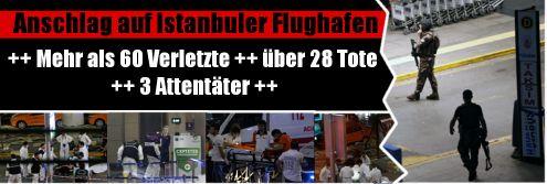 Selbstmordanschlag am Flughafen Atatürk