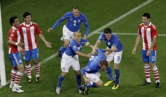 Italien - Paraguay (Foto)