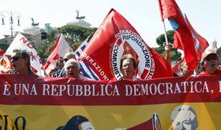 Italiener sind Montis Sparkurs leid (Foto)