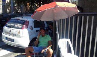 Italienischer Fußballprofi beendet Hungerstreik (Foto)