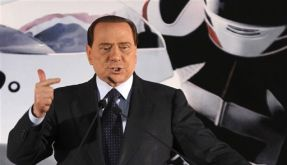 Italiens Ministerpräsident Berlusconi. (Foto)