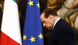 Italiens Premierminister Silvio Berlusconi (Foto)