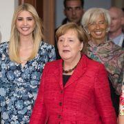 Zu Besuch bei Merkel: Ivanka verteidigt ihren Vater Donald Trump (Foto)