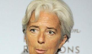 IWF-Chefin Lagarde steht vor Untreue-Verfahren (Foto)