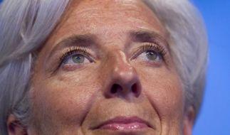 IWF-Chefin Lagarde: Weltwirtschaft auf Erholungskurs (Foto)