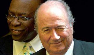 Jack Warner (l.) und Sepp Blatter. (Foto)