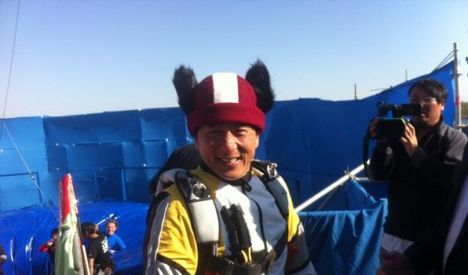 Jackie Chan wird in Lettland zum «Bärentöter» (Foto)