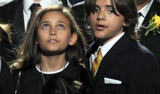 Jacksons Kinder Paris, Blanket und Prince Michael  (Foto)