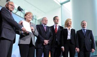 Jahresgutachten des Sachverstaendigenrates zur Begutachtung der gesamtwirtschaftlichen Entwicklung (Foto)