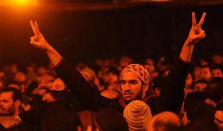Jahrestag der Revolution: Tausende auf Tahrir-Platz (Foto)