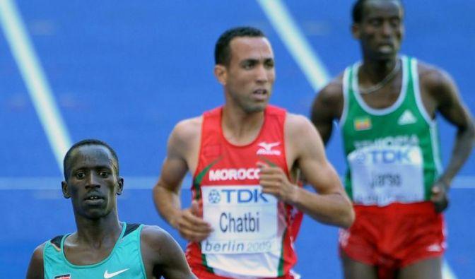 Jamal Chatbi (M) ist in Berlin des Dopings überführt worden. (Foto)