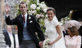 James Matthews und Pippa Middleton haben geheiratet. (Foto)