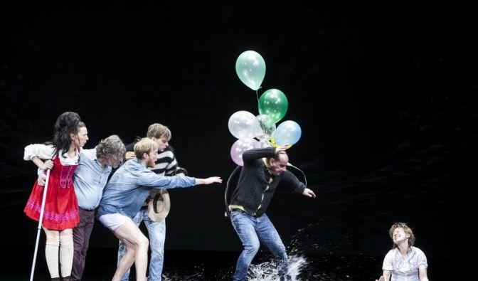 Jammernde Kinderschänder - Kroetz-Stück in München (Foto)