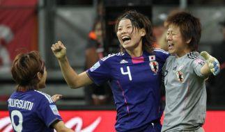 Japaner in Deutschland jubeln - «Sieg tut so gut» (Foto)