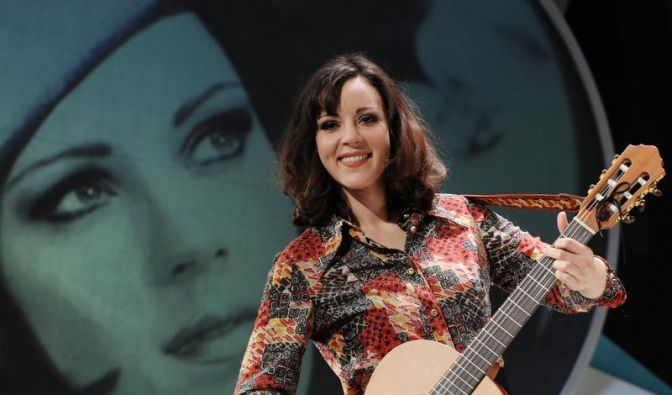 Jasmin Wagner als Sängerin Alexandra gefeiert (Foto)