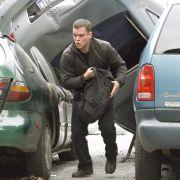 Filmmusik, so gestresst wie seine Hauptfigur: Bourne-Trilogie mit Matt Damon.