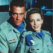 Jean-Claude van Damme und Kylie Minogue spielte gemeinsam 1994 mit Film Street Fighter.