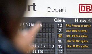Jeder fünfte Fernzug kommt zu spät (Foto)