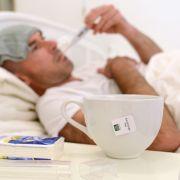 Jedes Jahr im Winter steigen die Grippe-Erkrankungen. (Foto)
