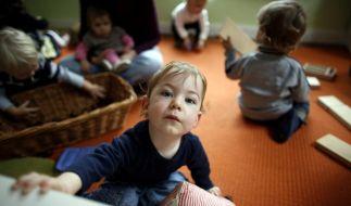 Jedes Kind zwischen eins und drei hat ab August das Recht auf einen Krippenplatz. (Foto)