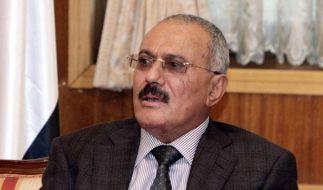 Jemens Präsident setzt sich mit Immunität ins Ausland ab (Foto)