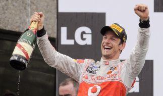 Jenson Button gewinnt in Montreal (Foto)