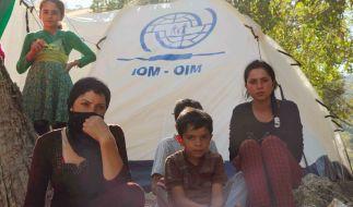 Jesiden im Nordirak. Viele Mädchen und Frauen fallen dem IS in die Hände und werden als Sex-Sklavinnen missbraucht. (Foto)