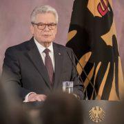 """Gauck: """"Das beste Deutschland, das wir jemals hatten"""" (Foto)"""