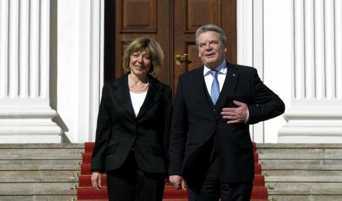 Joachim Gauck und Daniela Schadt (Foto)