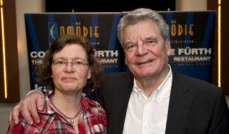 Joachim Gauck und seine Tochter Gesine Lange (Foto)