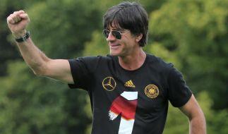 Joachim Löw wird seinen Vertrag als Bundestrainer erfüllen. (Foto)