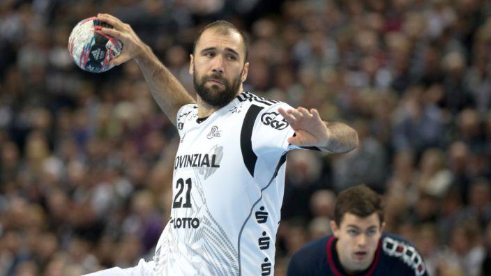 Joan Cañellas wechselt am Ende der Saison von Bundesliga-Meister THW Kiel zum mazedonischen Top-Club Vardar Skopje. (Foto)