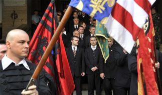 Jobbik-Mitglieder (Foto)