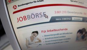 Jobbörse der Arbeitsagentur (Foto)