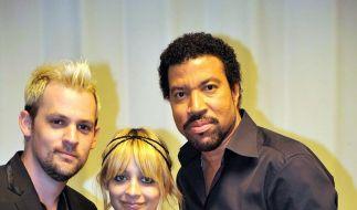 Joel Madden mit Nicole und deren Vater Lionel Richie.  (Foto)