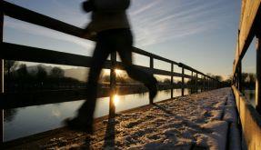 Joggen mit Uhr (Foto)