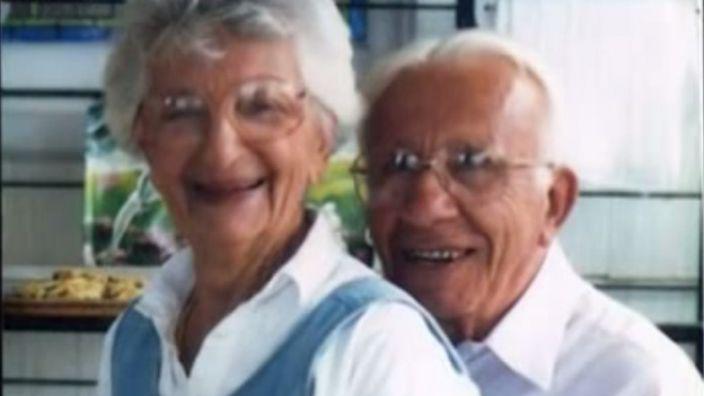 John und Ann Betar sind seit 83 Jahren verheiratet und geben zum Valentinstags Beziehungstipps auf Twitter. (Foto)