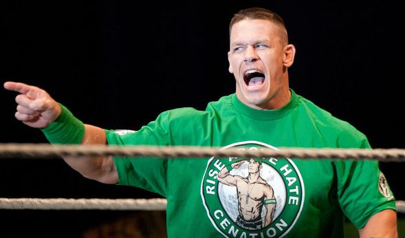 John Cena kämpft beim WWE-SummerSlam 2017 gegen Baron Corbin. (Foto)
